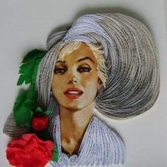 En Yeni Quilling Çalışmaları - Mimuu.com Quilling, Dreadlocks, Hair Styles, Beauty, Projects, Quilling Patterns, Bedspreads, Hair Plait Styles, Log Projects