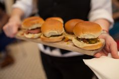 "Who knew that ""bologna and 'chow chow' sliders"" could look this appetizing?"