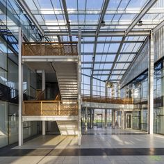 The University Of Kashmir | ANA Design Studio - The Architects Diary Atrium, University, Staircase Ideas, Studio, Building, Portugal, Design, Home Decor, Furniture