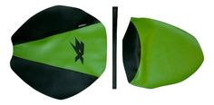 2004-2005 Kawasaki Ninja ZX10R ZX Motorcycle Seat Cover AS Lime Green CF Black https://www.bonanza.com/listings/459187053