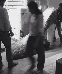 #window #display #installation #design #bologna #shoes #altiebassi