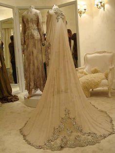 lovely, elegant bridal dress