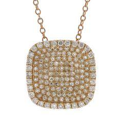 Uniquepedia.com - 0.60ct 14k Rose Gold Diamond Pave Pendant Necklace, $889.00 (http://www.uniquepedia.com/0-60ct-14k-rose-gold-diamond-pave-pendant-necklace/)