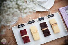 Wedding cake consultation/tasting.
