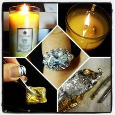 "Look what @meggersk23 from Instagram got! She quips ""My candle proposed to me, and I said Yes!""  #jewelscent  #choosedaytuesday"