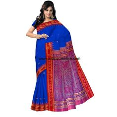 Buy OSS5022 Festivals wear silk Saree online - Odisha Saree Store
