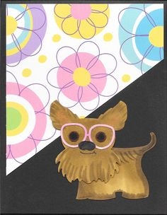 This sweet yorkie card is sure to delight your K9 fan. Love Thoughts, Stork, Homemade Cards, Yorkie, Fan, Sweet, Yorkies, Yorkshire Terrier, Diy Cards