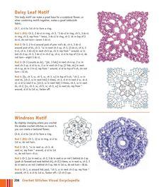 Мобильный LiveInternet Мотивы крючком - Crochet Stitches VISUAL Encyclopedia | MerlettKA - © MerlettKA® ™ | Crochet Granny, Crochet Motif, Crochet Stitches, Granny Square Tutorial, Tablecloth Fabric, Snowflakes, Crochet Necklace, Daisy, Sculpture