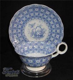 Minton & Boyle Butterfly Chintz Tea Cup, 1836-1841