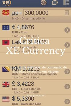 Crítica: XE Currency