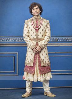Sherwani Groom, Mens Sherwani, Sabyasachi, Sherwani For Men Wedding, Wedding Men, Wedding Suits, Wedding Groom, Gents Kurta