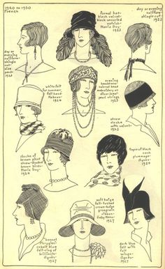 Hats & Hair 20s-30s
