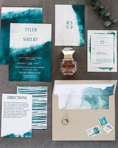 No one does wedding stationery quite like The Wedding Shop by Shutterfly and we're teaming up with Pretty in the Pines for all of the ways to customize your perfect suite. Wedding Book, Wedding Cards, Our Wedding, Dream Wedding, Pilot Wedding, Wedding Ideas, Beach Wedding Invitations, Wedding Stationary, Invitation Design