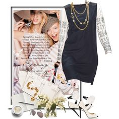Spring, created by zdenka on Polyvore