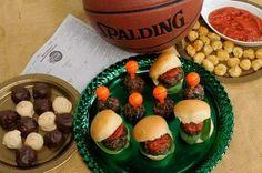 menus for March Madness include recipes for Smokin' Mozzarella Balls ...