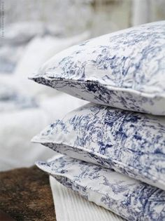 {décor inspiration : blue & white} by {this is glamorous}, via Flickr