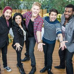 hallmarkchannel:  #Pentatonix is here on @Home and Family MON 10a/9c w incredible #Christmas carols u will love!