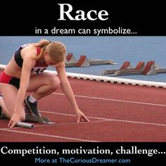 competition or race dream symbol in The Curious Dreamer Dream Dictionary Lucid Dreaming, Dreaming Of You, What Your Dreams Mean, Facts About Dreams, Understanding Dreams, Dream Dictionary, Enter Sandman, Dream Symbols, Dream Meanings