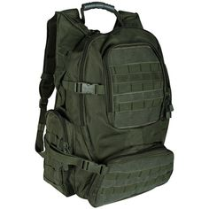 Olive Drab Field Operators Action Pack - 22 x 16 x 9 Inches, Backpack... ($51) ❤ liked on Polyvore featuring bags and backpack