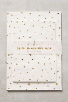 starlight favor bags