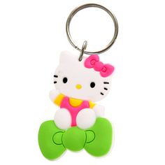 Hello Kitty Rubber Keyring