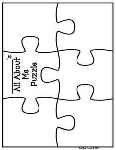 Back to School All About Me Puzzle {FREEBIE!} Back to School All About Me Puzzle {FREEBIE! Send before open house or give it out there for kids to return on the first day of school. Back To School Night, 1st Day Of School, Beginning Of The School Year, School Days, Art School, Back To School Art, Back To School Crafts, School Starts, Middle School