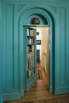 Secret door.. fun! There was one of these where we stayed after our wedding @ Querencia