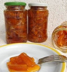 Szirupban eltett narancs Naan, Salsa, Food And Drink, Tasty, Canning, Drinks, Hot, Drinking