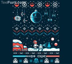 Pop Culture-Inspired Ugly Christmas Sweaters