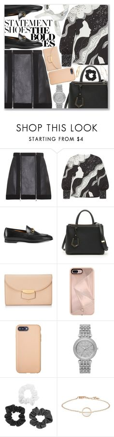 """Effortlessly cute"" by kueenly ❤ liked on Polyvore featuring Chloé, Gucci, Fendi, CÉLINE, Rebecca Minkoff, Sonix, Michael Kors and Maya Brenner Designs"