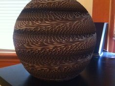 Spherical Cardboard Lamp by RobMeyer - Thingiverse
