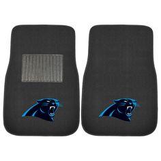 Carolina Panthers Carpet Floor Mats