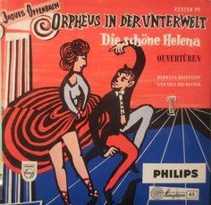 Jaques Offenbach* - Orpheus In Der Unterwelt, Die Schöne Helena (Ouvertüren) (Vinyl) at Discogs