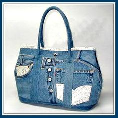 Upcycled Jeans Bag Inspiration
