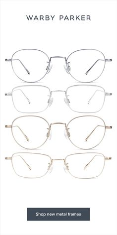 Versatility comes easy with sophisticated, lightweight (nearly rimless!) silhouettes like these. Warby Parker Glasses, Lunette Style, Mens Glasses Frames, Fashion Eye Glasses, Eyeglasses For Women, Womens Glasses, Sunglass Frames, Eyewear, Oversized Glasses
