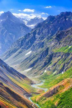 Tajikistan moutains