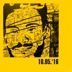 Bruno Capatti, 10.05.'16 - Regeni case, the Egyptian street artist remind Giulio - Caso Regeni, gli street artist egiziani ricordano Giulio