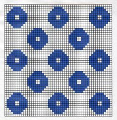 Billedresultat for birgitta bengtsson björk Crochet Diagram, Crochet Chart, Crochet Motif, Crochet Home, Knit Crochet, Tapestry Crochet Patterns, Fair Isle Knitting Patterns, Knit Patterns, Crochet Potholders