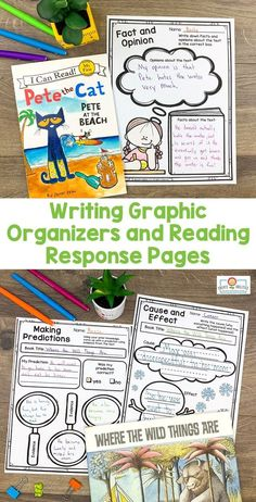 Reading and Writing Graphic Organizers LOWER Elementary 2nd Grade Classroom, Kindergarten Classroom, Fact And Opinion, Opinion Writing, Writing Graphic Organizers, Third Grade Reading, Making Inferences, Authors Purpose, Common Core Reading
