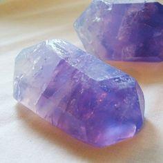 So fabulous - 2 oz Soap/Amethyst Crystal Soap by amethystsoap on Etsy, $4.99