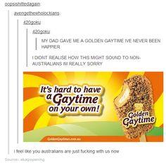 I love Golden Gaytimes!