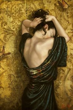 Figurative painting by Lauri Blank. my dream is to be able to paint that realistically