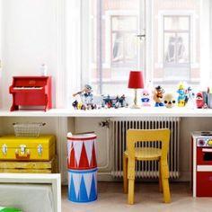 deco chambre enfant colorée