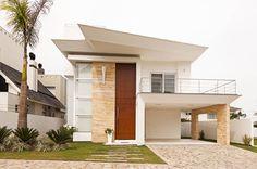 Casa Ponta : Casas modernas por Marcos Biazus Arquitetura e Design
