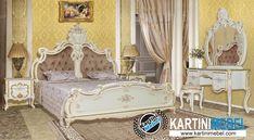 Set kamar tidur klasik ukir jok duco vittany Decor, Furniture, Kamar Tidur, Settings, Home Decor, Bed
