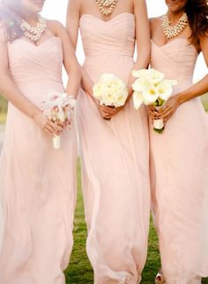 Lovely Simple Sweetheart Floor Length Pink Bridesmaid Dress 2018, Pink – BeMyBridesmaid