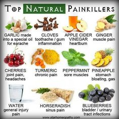 Top 10 painkillers found in nearly every kitchen | Homeopathy ...