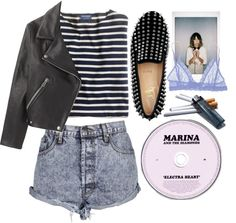 """""""Electra heart"""" by celestialfaun ❤ liked on Polyvore"""