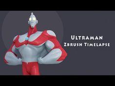 (1) Zbrush timelapse | Ultraman - YouTube