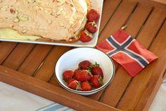 A Norwegian Cake for Syttende Mai: Verdens Beste Kake - Visit Outside Oslo for this and other Syttende Mai recipes